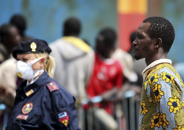 Migrants, Italie