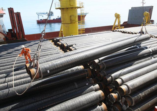 Construction d'un gazoduc