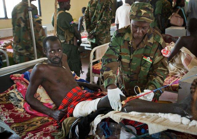 Situation  au Soudan du Sud. Archive photo
