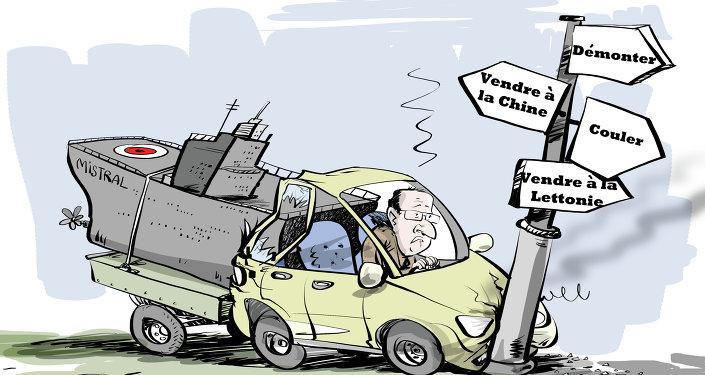 Mistral russes: Hollande en panne d'idées