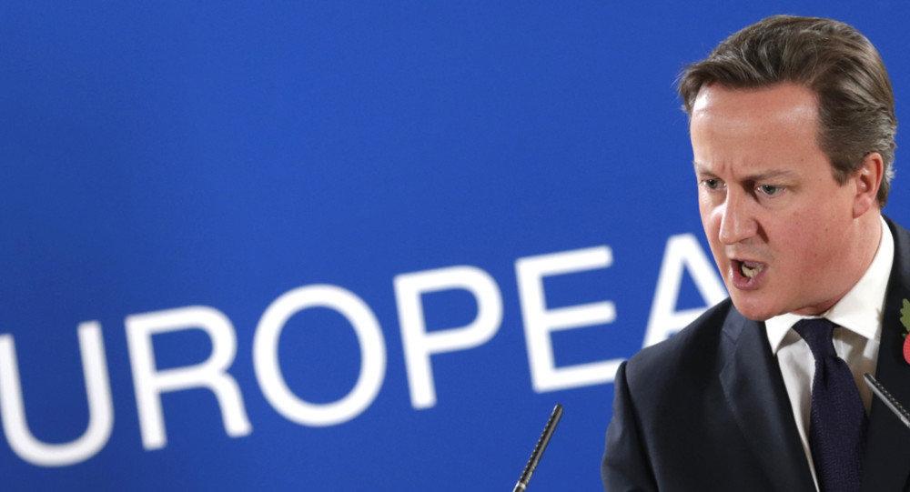 Le premier ministre britannique David Cameron