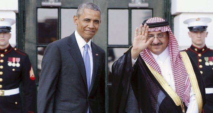 Barack Obama (à gauche) et Mohamed ben Nayef