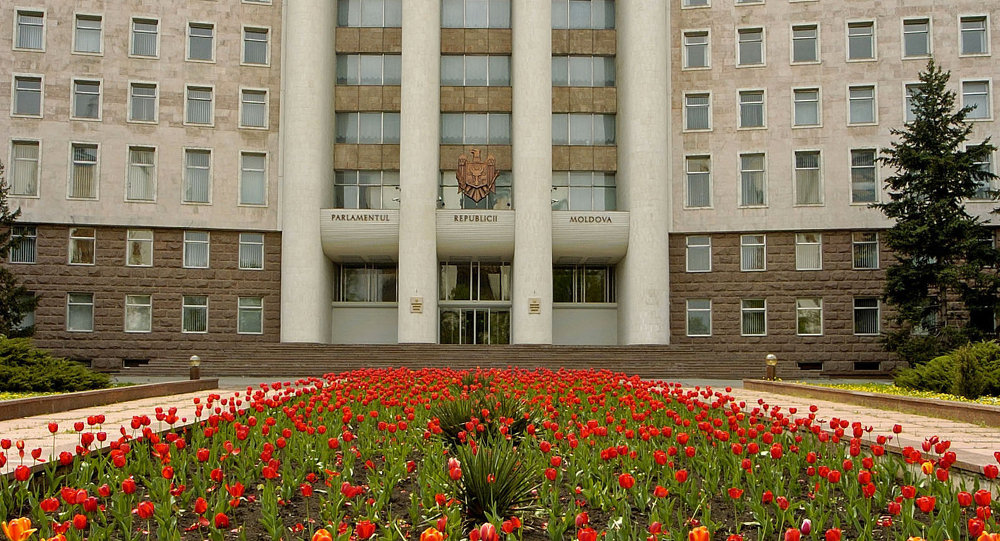 Siège du parlement moldave