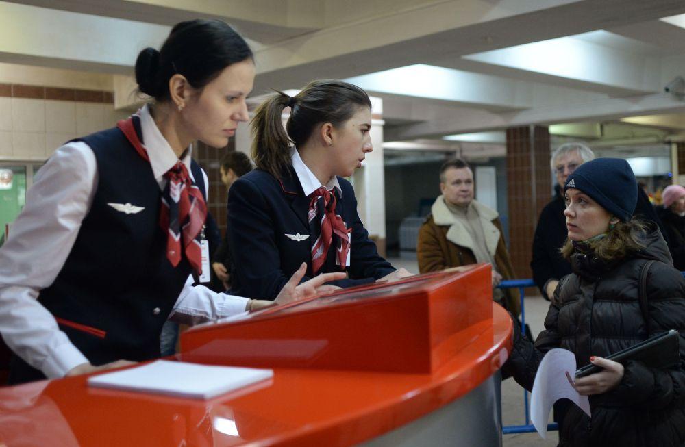 La station de métro Komsomolskaïa