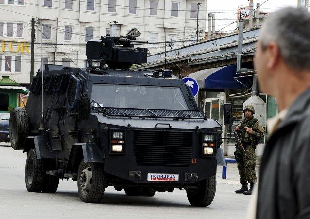 La ville macédonienne de Kumanovo, à la frontière avec le Kosovo