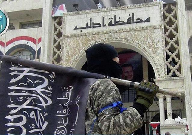 Un combattant du Front al-Nosra en Syrie