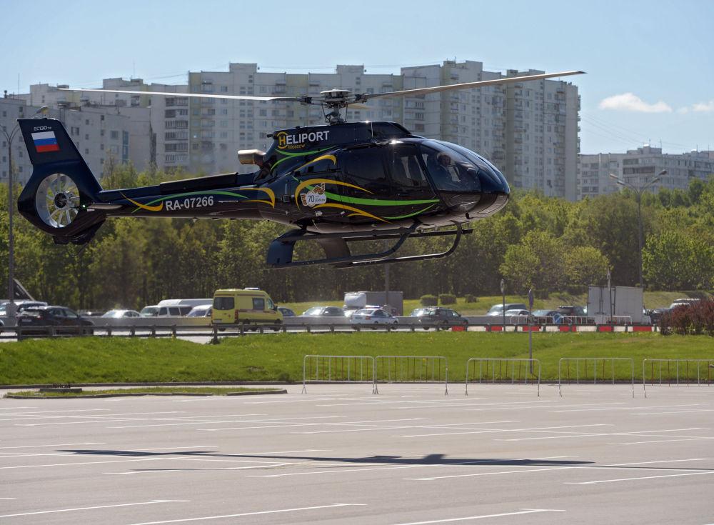 L'hélicoptère Eurocopter  EC-130T2