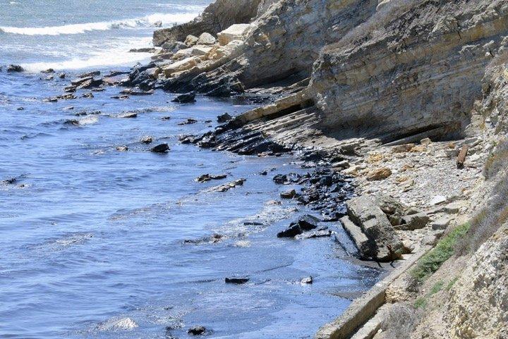 Marée noire en Californie