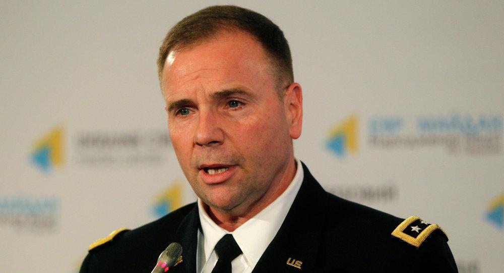Lt. Gén. Ben Hodges, commandant des forces terrestres américaines en Europe