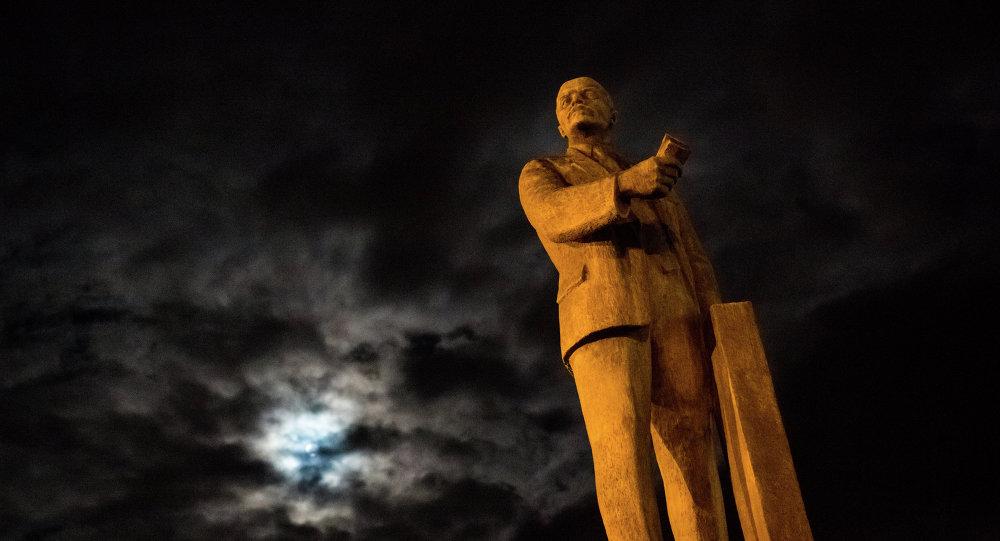 Monument à Vladimir Lénine. Photo d'illustration