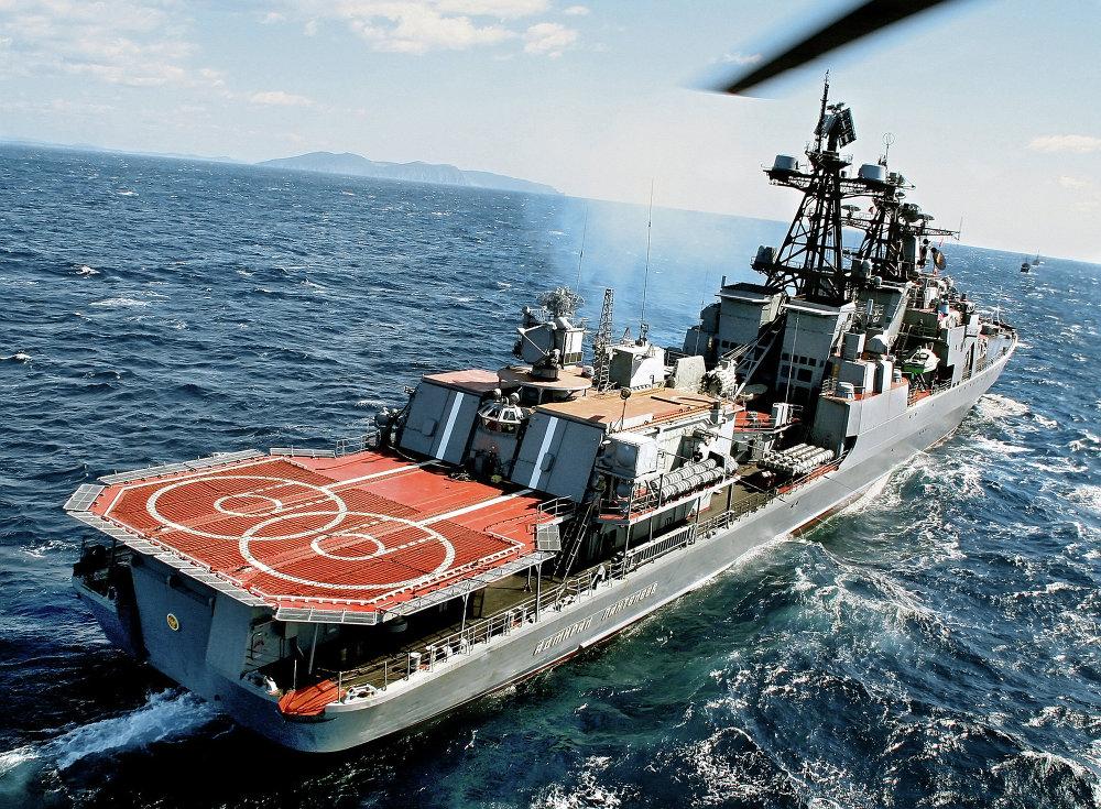 Le grand bâtiment anti-sous-marin Admiral Panteleïev