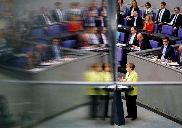 Angela Merkel. Sommet du Partenariat oriental. 21 mai. Riga