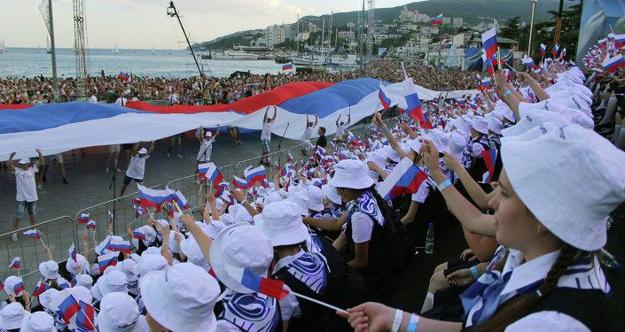 Jour de la Russie: manifestations, concerts et feux d'artifice