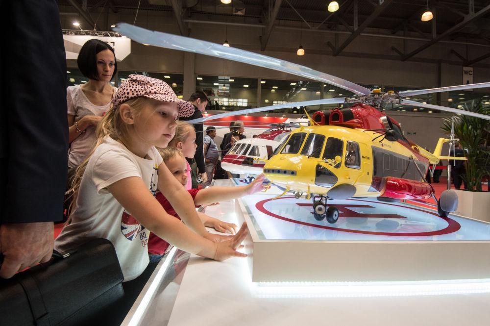 Salon HeliRussia: innovations russes et étrangères