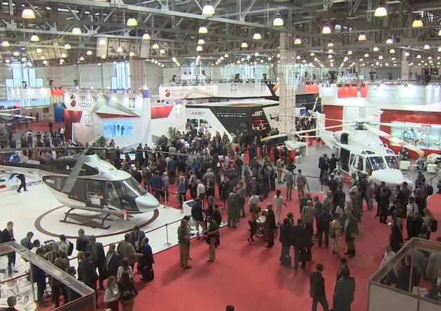 Salon HeliRussia: des appareils dernier cri présentés à Moscou