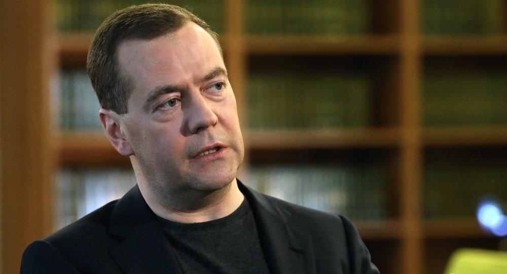 Dmitri Medvedev, chef du gouvernement de Russie