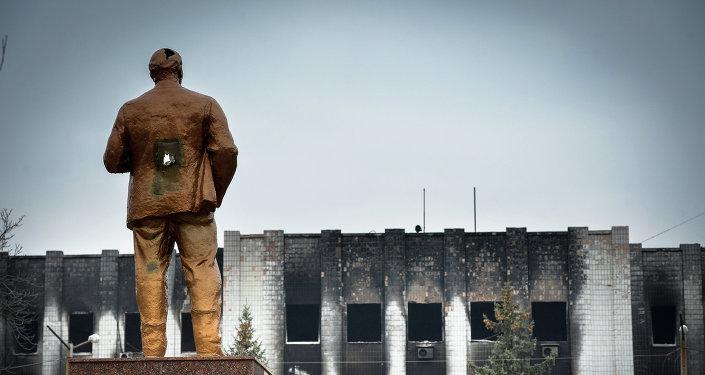 Statue de Lénine en Ukraine