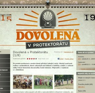 La téléréalité tchèque Dovolena v Protektoratu