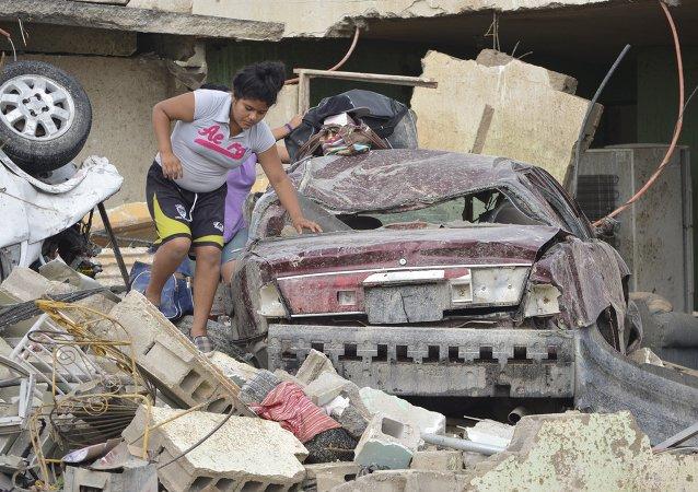 Ciudad Acuña ravagée par la tornade