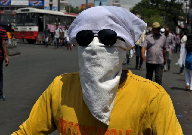 L'Inde frappée par la canicule