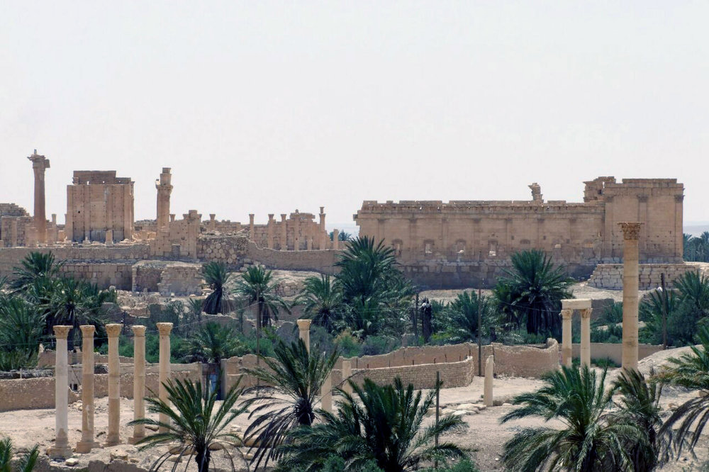 Les jardins de Palmyre