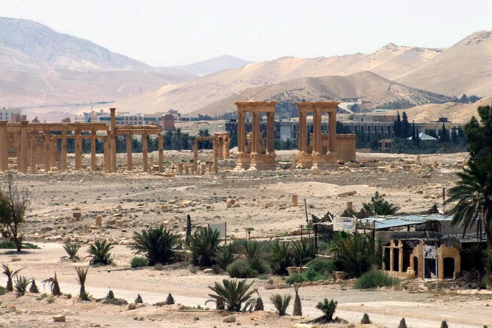 Les ruines du camp de Dioclétien