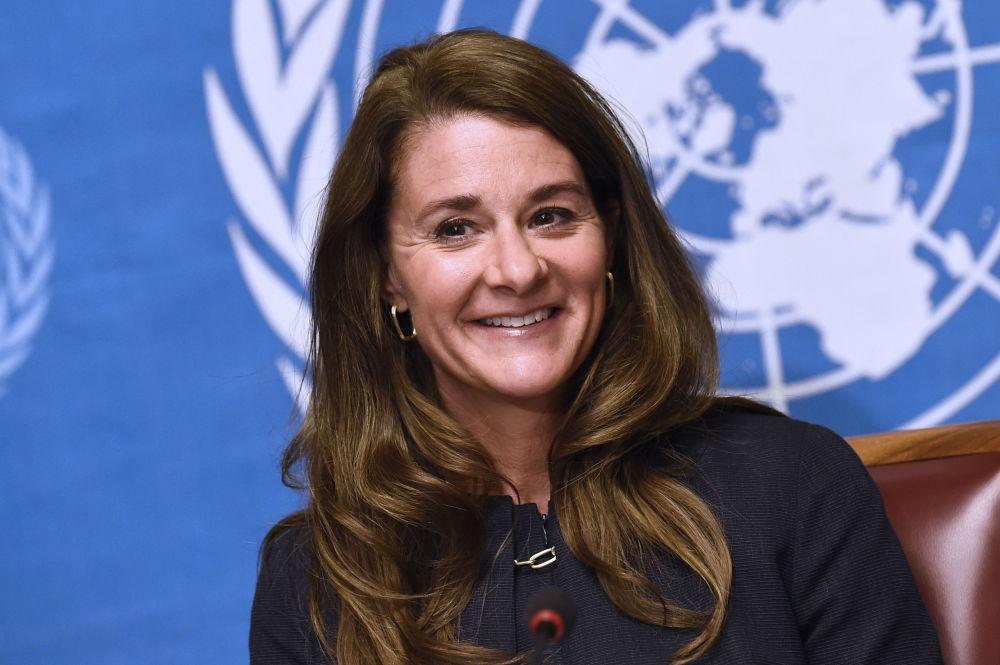 Melinda Gates, co-présidente de la fondation Bill & Melinda Gates