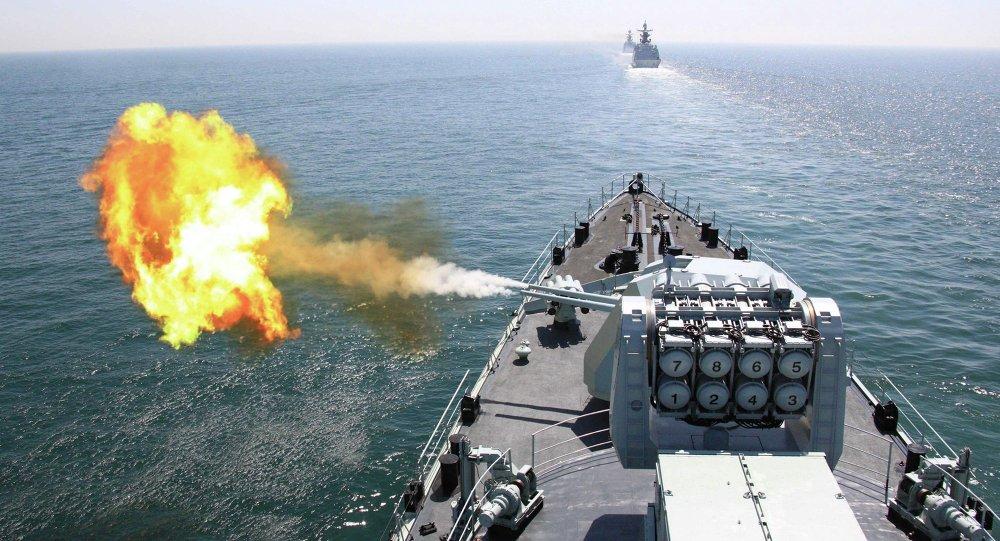 Le destroyer chinois DDG Harbin