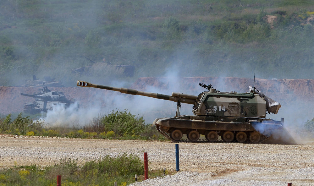 Un canon automoteur MSTA-S