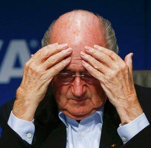 Joseph Blatter, président de la FIFA
