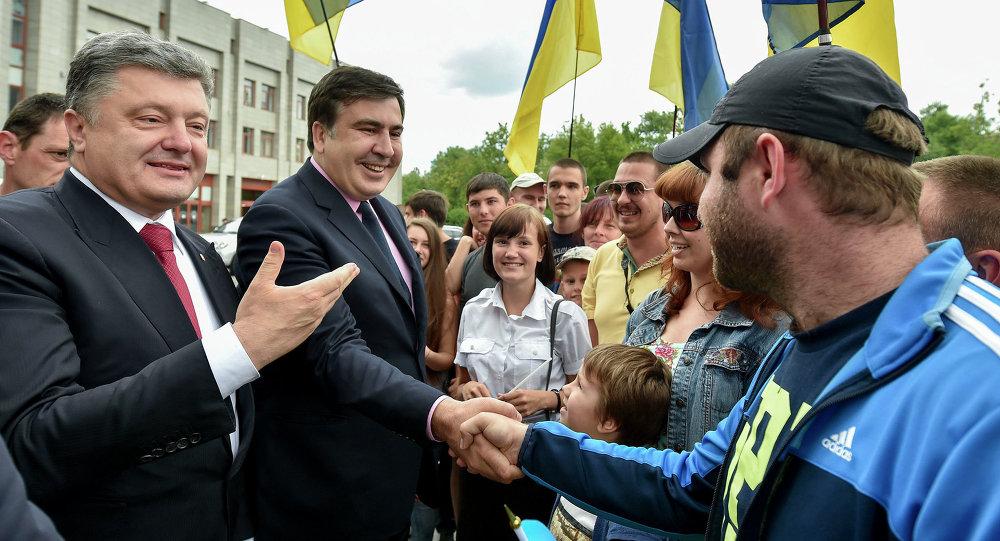 Saakachvili naturalisé Ukrainien est nommé gouverneur d'Odessa
