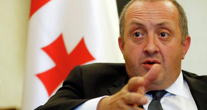 Président géorgien Gueorgui Margvelachvili