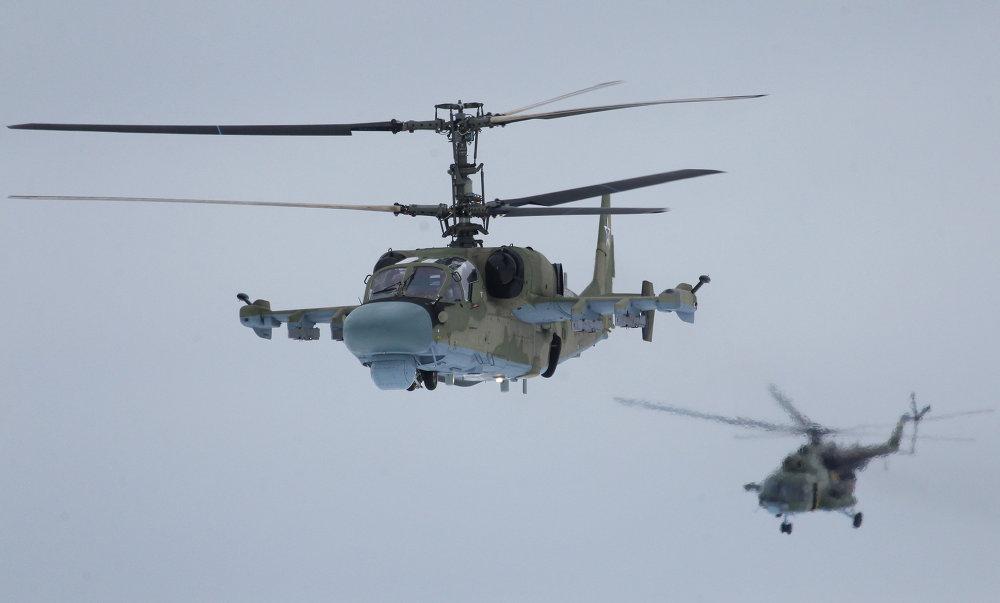 Le kamov ka 52 nouvel h licopt re polyvalent de l 39 arm e for Porte helicoptere