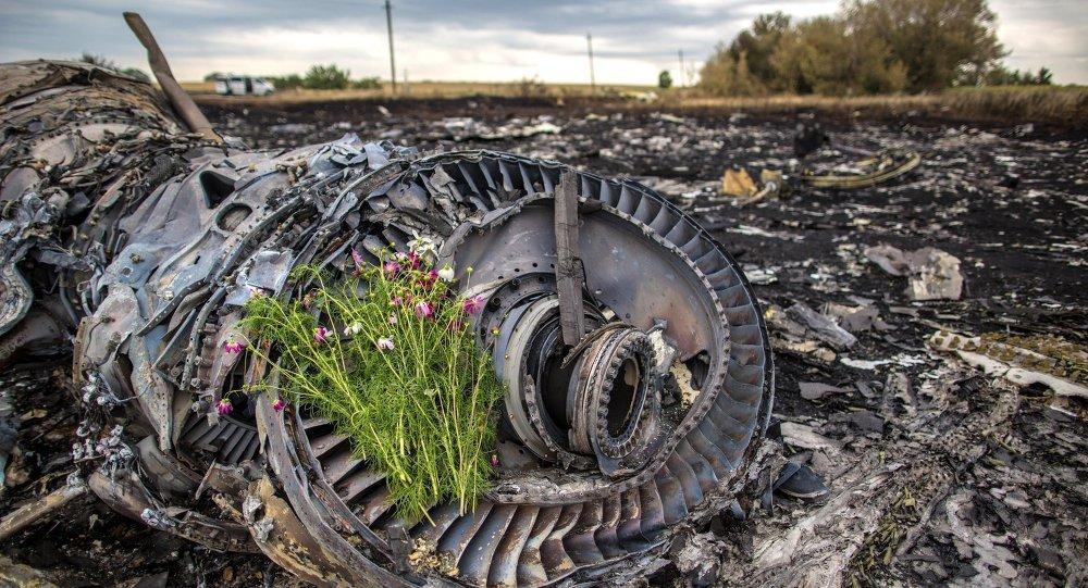 Débris du vol MH17