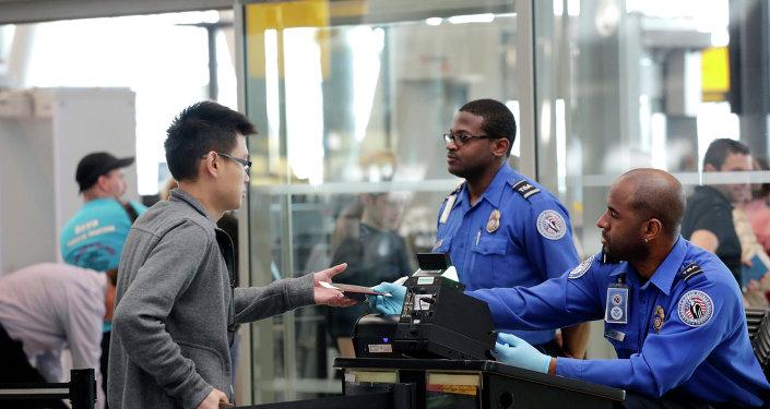 Les agents de  l'Agence nationale américaine de sécurité dans les transports (TSA)