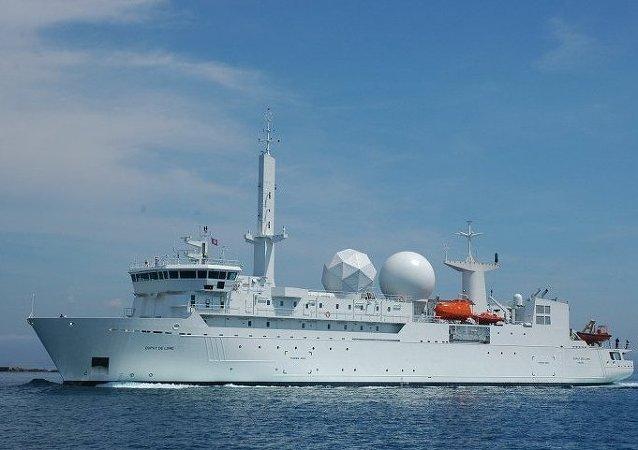 Navire collecteur de renseignements français Dupuy-de-Lôme