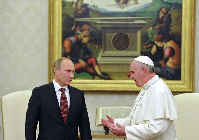 Vladimir Poutine au Vatican