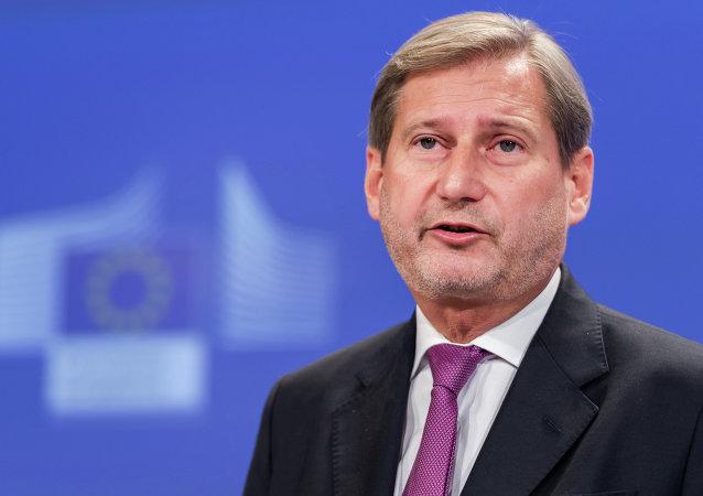 Johannes Hahn, Commissaire à l'élargissement et à la politique européenne de voisinage de l'UE