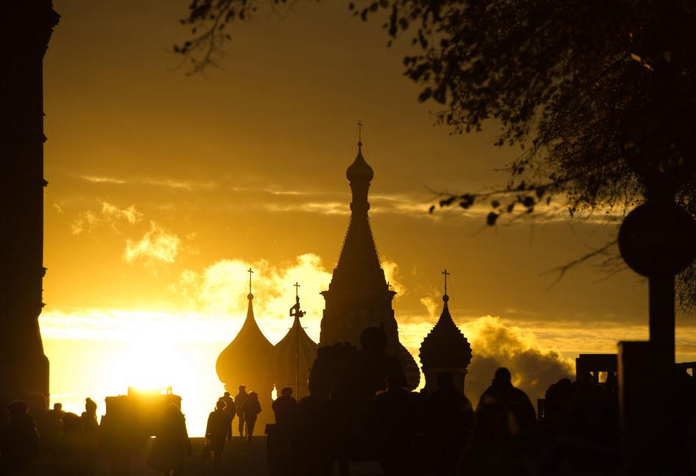 La Cathédrale Saint-Basile-le-Bienheureux de Moscou