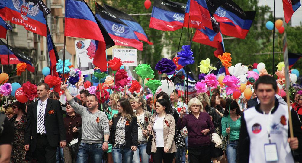 Donetsk, Mai 11, 2015