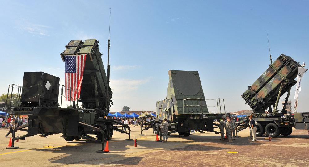 Batterie de missiles américains Patriote