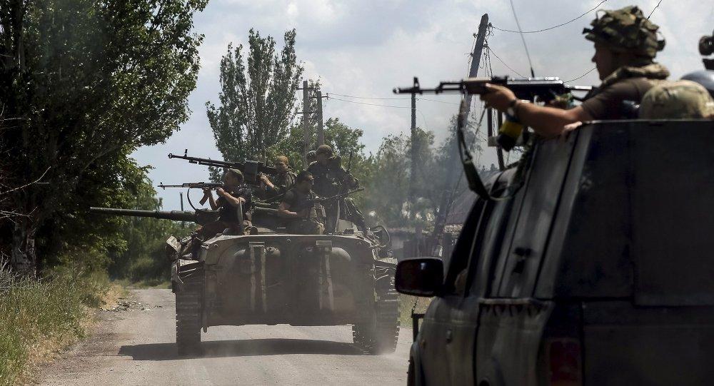 Militaires ukrainiens, Juin 5, 2015.