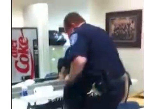 Des policiers américains testent un Segway