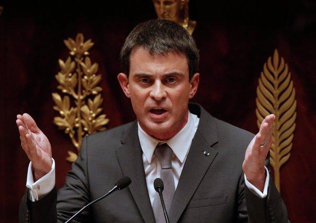 Premier ministre français Manuel Valls