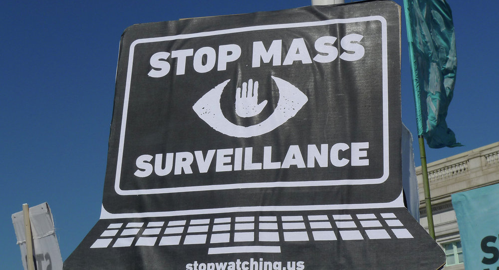Rally and March in Washington DC Against Mass Surveillance