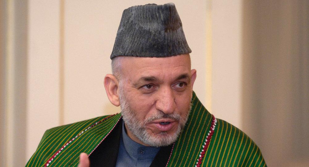 Ex-président afghan Hamid Karzaї