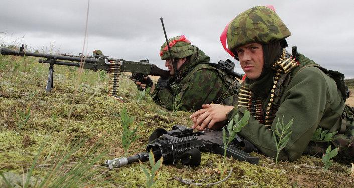 Soldats lituaniens