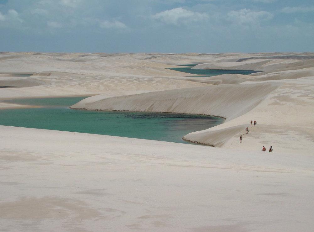 Le désert Lençóis Maranhenses
