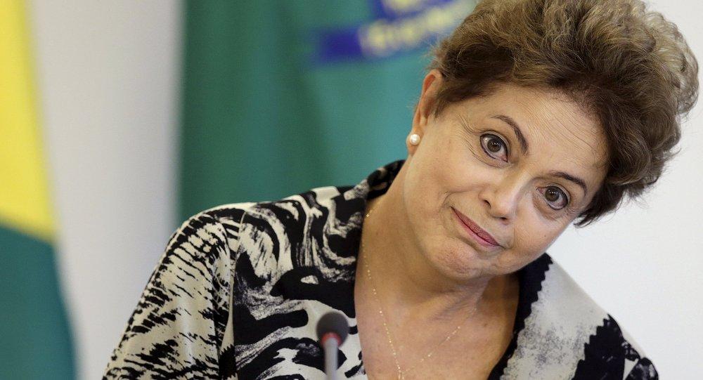 Dilma Rousseff, présidente du