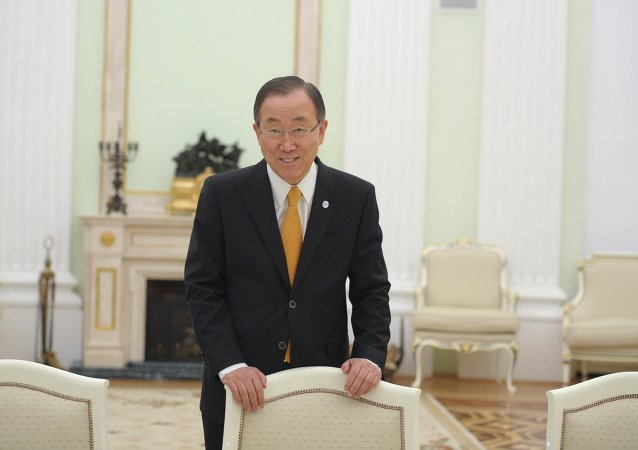 Ban Ki-Moon. Archive photo